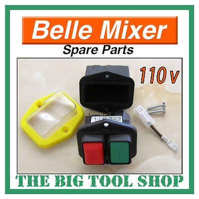 Belle Mixer Switch, 110V Minimix 150 Motor Switch *1St Class Post* Mix