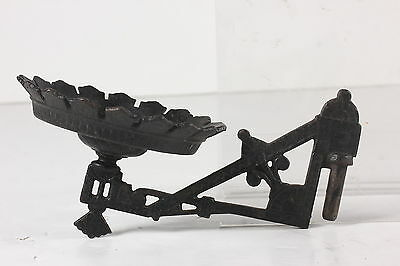 Antique Cast Iron Oil Lamp Holder For Wall Mounting Arm Only Replacement Part