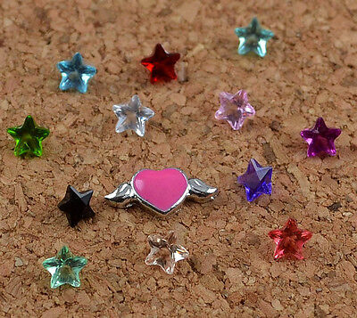 hot! 13pcs Floating Charm for Glass Living Memory Locket Mix  S-176