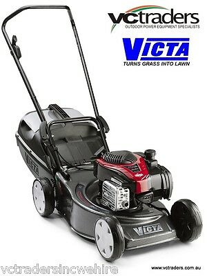 Victa Corvette 200 Mower 2016/17 Model. 3 YEAR WTY. Not available in bulk stores