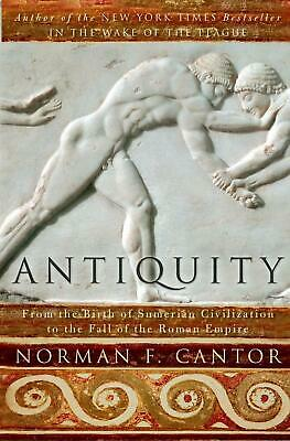 Antiquity by Norman F. Cantor (English) Paperback Book Free Shipping!