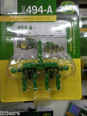 New John Deere 1/64Th Scale Model 1962 4-Row Planter 494-A New In Box Tbe45438