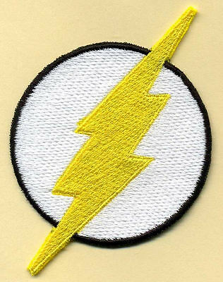 """2.5"""" THE FLASH - Fully Embroidered Insignia Patch"""