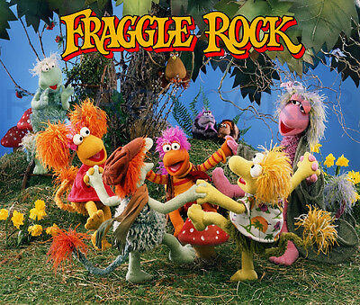 Classic Retro High Quality Fraggle Rock Mouse Mat Pad