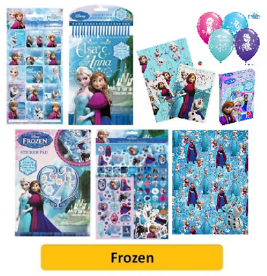 DISNEY FROZEN - Colouring/Activity/Sticker/Busy Packs Anna&Elsa (Kids/Gift/Xmas)
