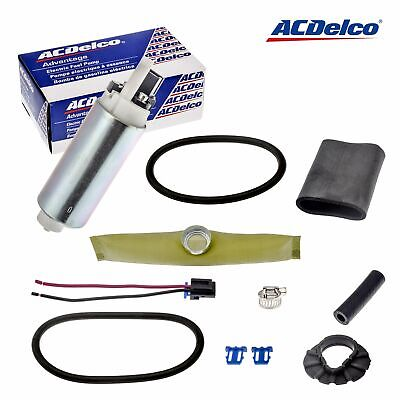 New Ac Delco Fuel Pump & Strainer With Installation Kit Gm Vehicles Ep381
