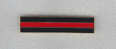 THIN RED LINE Silver Brotherhood Mourning/Award/Commendation Bar FIREFIGHTER