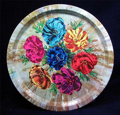 Carnation Flowers Swerving TRAY ♦  Breweriana ♦ Drinks ♦ Elite England
