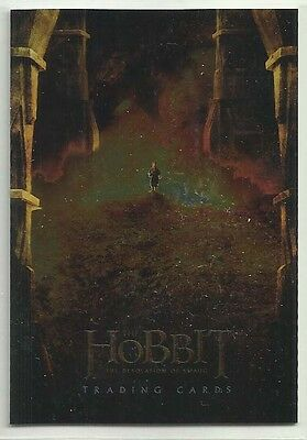 "2014 The Hobbit: Desolation of Smaug CHROME ""Promo Card"" #P3 PHILLY NON-SPORT"