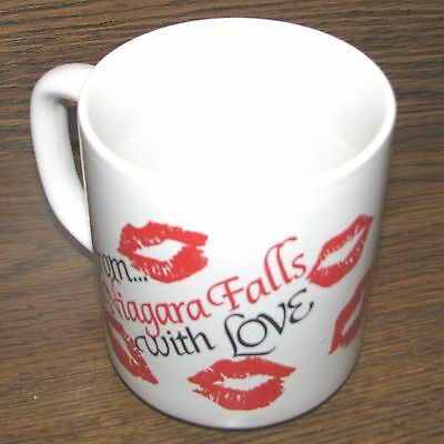 """From Niagara Falls With Love"" Souvenir Mug/Cup VERY RARE MINT"