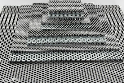Mild Steel Perforated Sheet 1 mm Thick - 3 mm Holes 5 mm Pitch Vent Filter