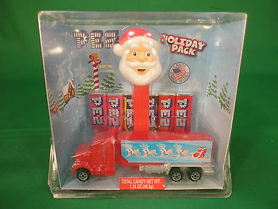 2009 Holiday Christmas Santa Claus & Truck PEZ Mint in Box