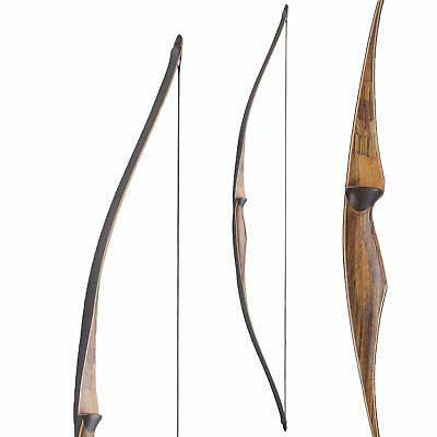 Langbogen trad. Longbow BIG TRADITION Troy - 54 Zoll - 15-25 lbs - inkl. Sehne