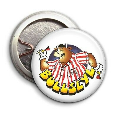 Button Badge 25mm 180 Dusty Bin BULLY for Bullseye