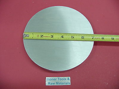 "7"" ALUMINUM 6061 ROUND ROD 2"" LONG T6511 7.00"" Diameter Solid Lathe Bar Stock"
