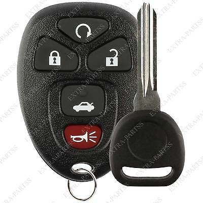 New Replacement Keyless Entry Remote Car Key Fob for 15912860 w/ Chip Plus Key