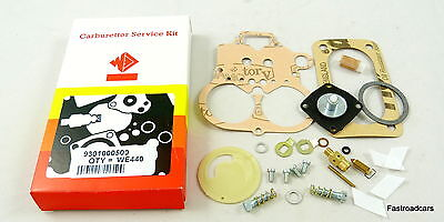Weber 40 Dfav Carb/carburettor Service Kit New Original