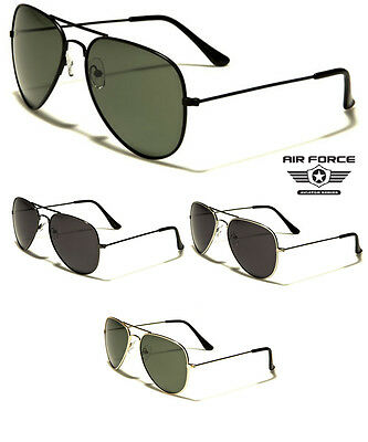 Aviator Classic Retro Pilot Polarized Sunglasses Men Women Metal Shades