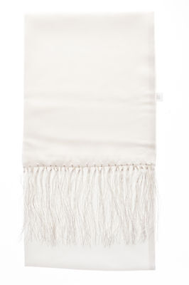 White Silk Dress Scarf For Dinner Suits Tuxedo Jacket Ideal Christmas Present