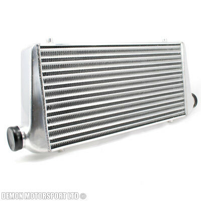 "Universal Alloy Intercooler 600 x 300 x 76mm For 63mm / 2.5"" Inch Pipe Kit"
