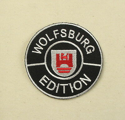 VW Wolfsburgh Edition Iron or Sew on embroidered Patch Large T25 T3 camper