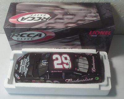 #29 KEVIN HARVICK 2011 BUDWEISER / MILITARY TRIBUTE ELITE 1 of 400 BLOWOUT