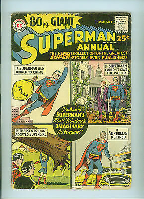 80 Page Giant (1964) 1 Superman Annual Supergirl Lex Luthor Superboy Dc Comics