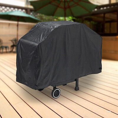 """Deluxe Waterproof Barbeque BBQ Propane Gas Grill Cover Small 44"""" Length Black"""