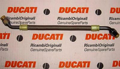Ducati 748 916 996 ST4 oil cooler pipe 54910031A = 54910071A may fit R/RS models
