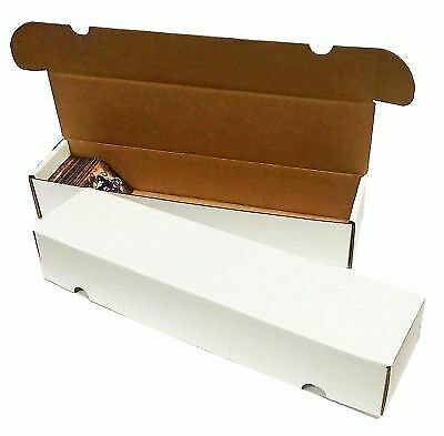 Lot of 3 Max Pro  800 Count Corrugated Cardboard Baseball Trading Card Boxes box