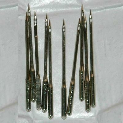 10 Home Sewing Machine Needles Hax1 15x1 90/14 100/16 110/18 for Singer Lot