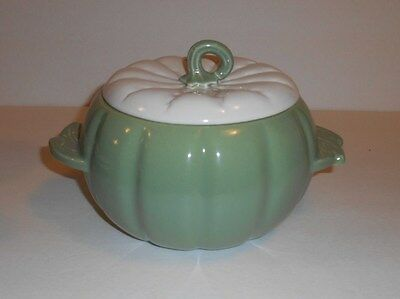 Earl China Hoenig Of California Pottery Green Soup Vegetable Serving 6 Piece Set
