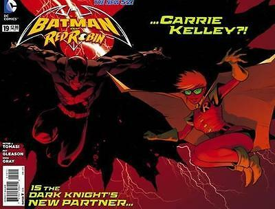 BATMAN & RED ROBIN 19 1st print 1st app CARRIE KELLY in DC NEW 52 movie superman