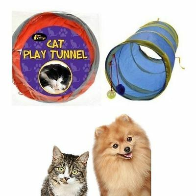 Buy 3 Get 1 Free Cat Kitten Pop Up Play Tunnel Includes 2 Suspended Ball Cat Pet