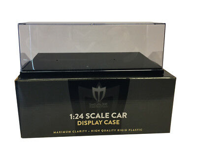 (4) Max Pro 1/24 Scale Die Cast Car Display Case Holders