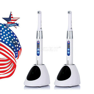 2xDental Cordless iLed Curing Light 1Second CureLamp 2300mW Woodpecker DTE Type