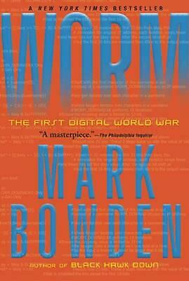 Worm: The First Digital World War by Mark Bowden (English) Paperback Book Free S