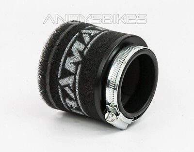 Universal Fit 65mm Motorcycle RamAir Race Pod Racing Performance Air Filter