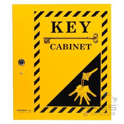 Lockout Tagout Key Cabinet Large - Holds up to 120 Keys