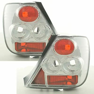 Honda Civic Hatchback 2001-2005 Chrome Lexus Rear Tail Lights Lamps Pair