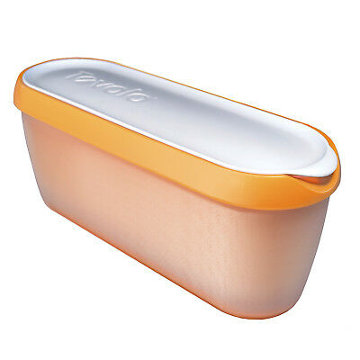 Tovolo Glide-A-Scoop Ice Cream Tub - Orange Crush