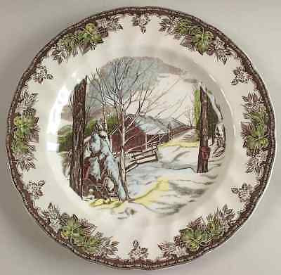 Johnson Brothers THE FRIENDLY VILLAGE Sugar Maple Dinner Plate 5820734