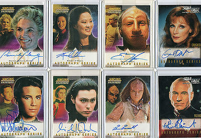 Star Trek TNG The Next Generation Autograph & Costume Card Selection NM