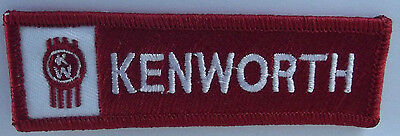 Kenworth trucks embroidered cloth patch.   F031201