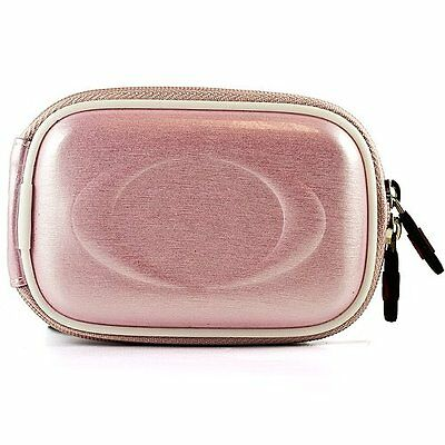 NEW VanGoddy Pink Glossy Camera Case for Digital Cameras and Tripod