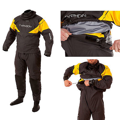 Typhoon Equator Hinge Surface Drysuit With Socks