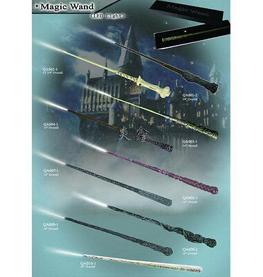 Harry Potter Hermione Dumbledore Sirius Voldemort Magic Wand In Box (led Light)