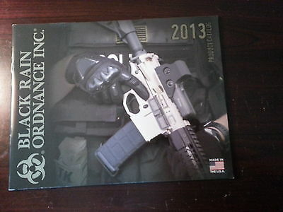 Black Rain Ordnance Inc Product Catalog Booklet / 2013 / 43 Pages / New
