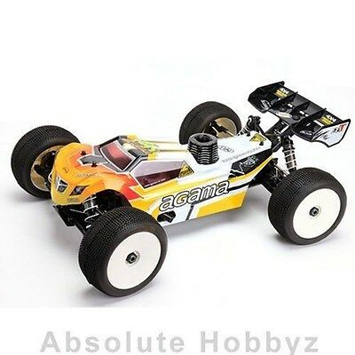 Agama Racing A8T EVO 1/8 Competition Truggy Kit - AGMA8T-EVO