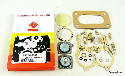 Weber 32/36 Dgav Carb/carburettor Service Kit Original We444 With Base Gasket